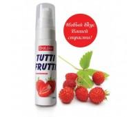 Вкусный оральный гель  Tutti-Frutti земляника