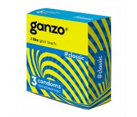Презервативы Ganzo, Classic классические 3 шт.